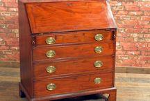 Antique Desks and Bureaux / A selection of antique desks and bureau from London Fine Antiques