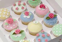 Şeker Hamuru Lezzetler / Cupcake kurabiye