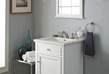 White Bath Vanities / Bath Vanities