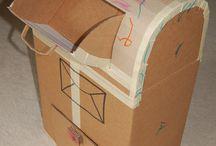 из коробок