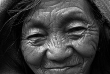 Faces / Interesting, knowing, lived beautiful faces