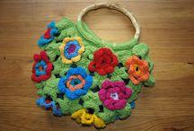 Moje práce My work crocheting / Crochet Atulu
