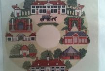 Patriotic Cross Stitch / Early America    Historical Samplers    George Washington / by Willa