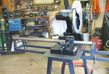 chop saw stand project