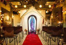 santa flamingo wedding / 移動式のチャペルのレンタルやウエディング装飾!