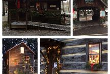 Christmas in the Village / An annual event held the first Friday and Saturday in December.  No admission, all studios are open, refreshments, live music, and hundreds of luminaries.