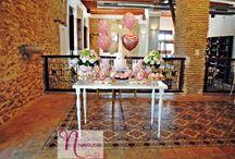 Mesas dulces para Bautizo / Naruss eventos: Ideas para decorar y endulzar los momentos mas importantes de de tu vida y la de los tuyos.
