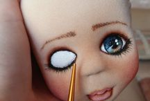 DOLL PAINTING / Thank you for following me