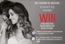 CONTEST BACKSTAGE SFILATA VANITAS / per vincere 2 pass per il backstage della sfilata Vanitas di Domenica 18