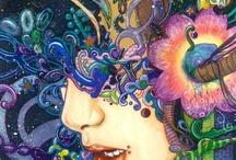 Psychedelie, surrealism, fantastic