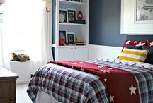 Boy's bedroom decor