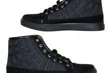 Heren High Sneakers Black