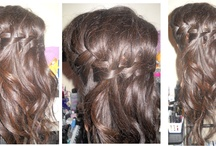 Hair by me / These hairstyles I either just come up with or is inspired from pictures online.