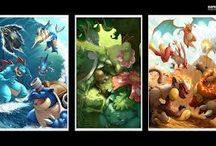 Pokemon / Here are just some cool Pokemon pictures I have found while searching the web. / by Tommy Ferris
