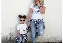 Mother's daughter fashion