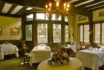 Hotel-Restaurants / Impressions of the three restaurants of Schoenburg Castle- Impressionen der 3 Restaurants von Burghotel auf Schönburg