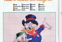 Grilles point de croix Disney gratuites