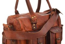 Vintage Leather Tote Bags