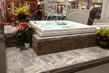 Our Dealers / Photo collection of MAAX Spas dealers in their showrooms and at their events.