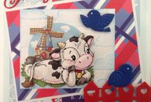 Koeien plaatjes kaarten