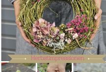 Wreaths / There are wreaths for all occasions, seasons and every budget. Get creative and enjoy making your front door a welcoming entrance into your home.