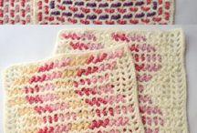 crochet with weaving