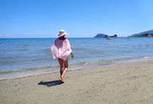 Greece / Walking on beach, swimming, great islands of Greece