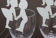 marque place couple blanc mariage,porte-noms blanc,etiquettes mariage