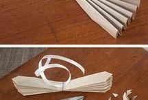 Fleurs fabriquées en papier
