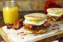 Brinner Recipes / As a kid, brinner was a special treat. As adults, eating breakfast for dinner means thinking beyond basic pancakes and whipping up a meal that's fun and satisfying—with a hint of nostalgia.