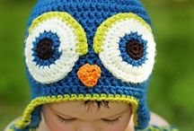 Crochet ideas scarfs, hats...