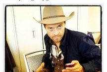 Misha collins...