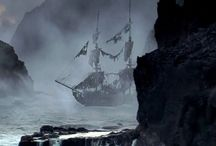 Pirate Ships 2.0 / Ships with black sails or steampunk parts, ghost ships and more.