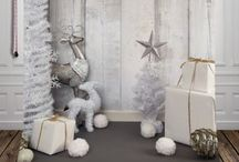 Studio Christmas setup