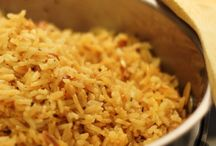 rice recipes / by Sherie Converse