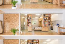 living house; transformable interior