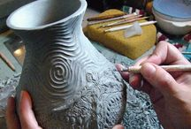 Pottery inspiration/ tips / A few tips and tricks and ideas for ceramic work to help me out.  / by Griffin Curry