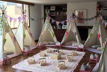 Pijamadas Infantiles / Las mejores ideas para crear pijamadas inolvidables que dejarán recuerdos infantiles memorables. Pijamadas temáticas, decoración y muchos teepes