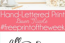 Printables / by Denise Landrum-Geyer