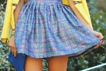 Feminine dress style