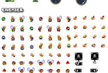 Sprites / Sprites from Super Mario Games for use in comics, art and however else you can think of using em!