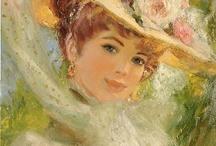 Портреты живопись