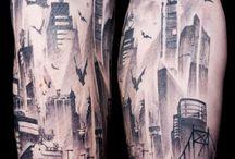 Left-Arm Tattoo CityScape