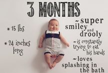 month wise baby shoot