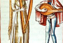 Medieval musicians and similar things
