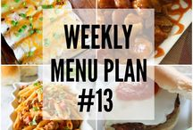 Menu ideas & planning