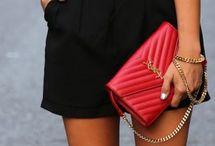 black with colour shoes