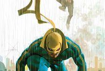 Super-heroes DC et Marvel