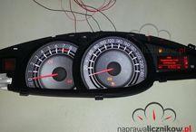 Naprawa licznika Toyota / Naprawa liczników Toyota. Naprawiamy uszkodzone wskaźniki, niesprawne wyświetlacze oraz całkowicie uszkodzone liczniki.