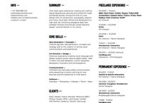 Resume, portfolio